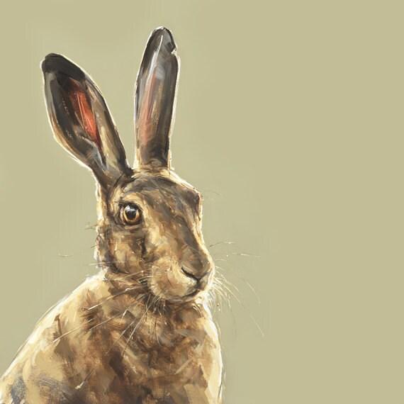 Hare print - Collectable Ltd. Ed. Fine art print