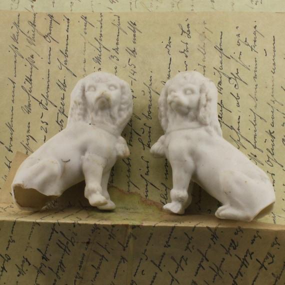 Vintage German Dogs ceramic