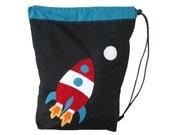 Rocket drawstring / PE bag