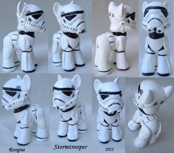 Custom My Little Pony Stormtrooper Star Wars Storm Trooper