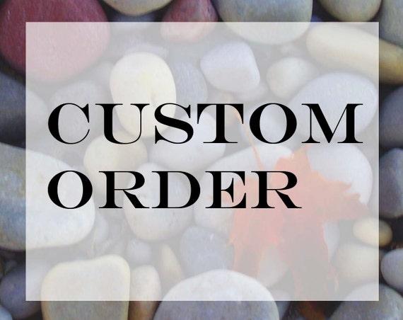 Custom order for robert andrade