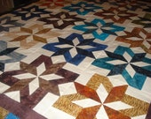 Batik Sea Star Quilt