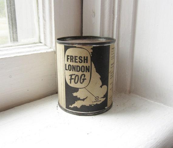 Vintage Souvenir Fresh London Fog Can