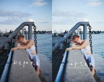 Blue Summer - Photoshop CS+ Action | Color Pop