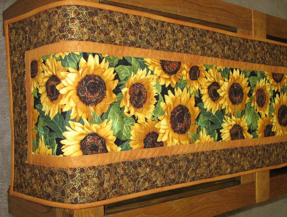 Autumn Table Runner Quilted fabric from Timeless Treasures