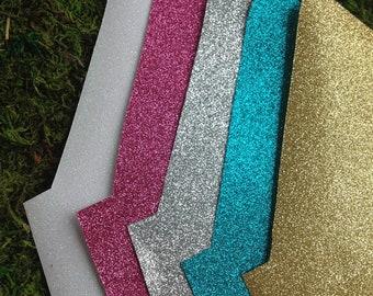 SALE! - Glitter liners for Envelopes, Set of 50