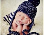 Newborn Photo Prop Baby Boy Hat