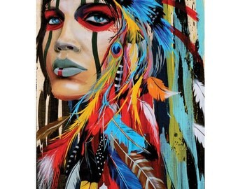 Feathered Pride 11x14 print