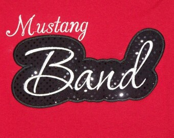 Custom Mascot Band Shirt