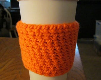 Coffee Cozy (Orange)
