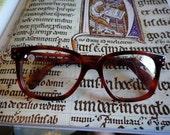 HOLIDAY SALE Vintage Red Silhouette Eyeglasses
