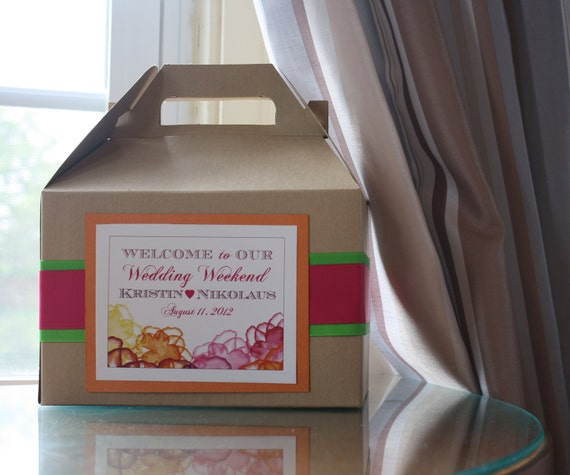 Wedding Gift Box For Guests : favorite favorited like this item add it to your favorites to revisit ...