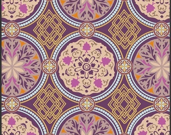 MEDALLION GOLDEN (BA402) - Bazaar Style -  Patricia Bravo for Art Gallery Fabrics - By the Yard