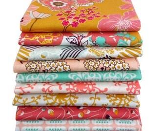 Half Yard Bundle - Summerlove Sunkissed Palette by Patricia Bravo - Art Gallery Fabrics - 9 Pcs
