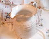 Vintage water pitcher/utensil holder