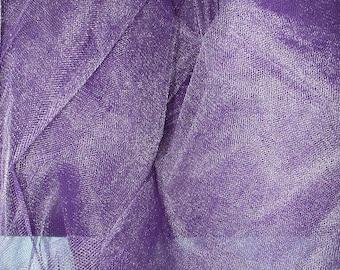 """Dark Purple """"Tutu"""" Netting  1 Yard  (SM191)"""