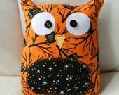 Ollie the Owlet - Halloween - Orange Owls