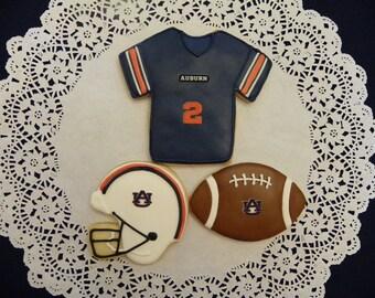 College Football Cookies