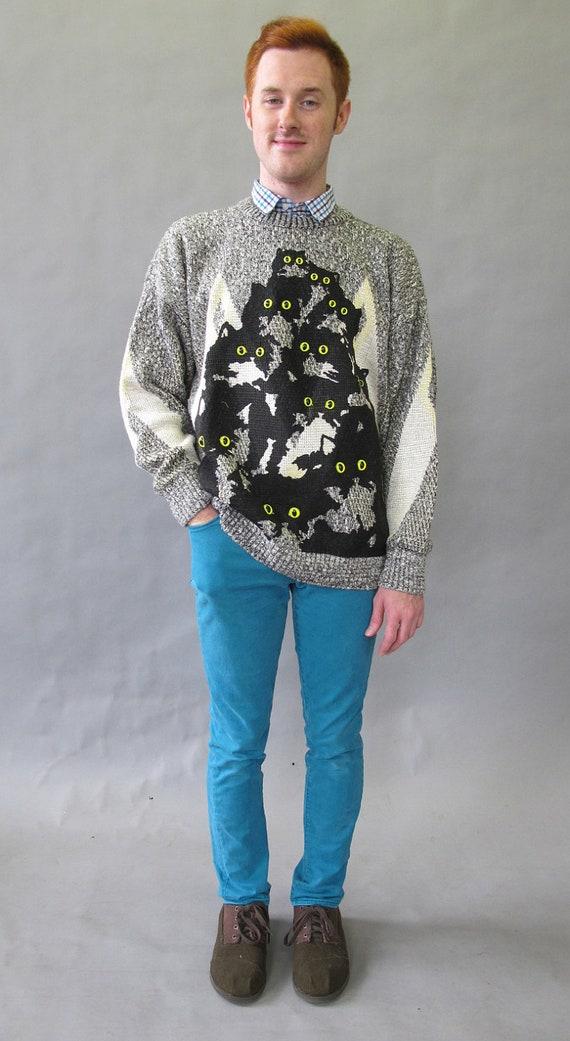 Crazy Kitty Sweater