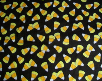 Halloween Fabric Destash - Halloween Candy Corn
