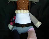 Custom Glitch Butler Doll, Made-to-Order