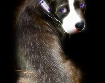 """Personalized Pet portrait 11"""" x 14"""""""