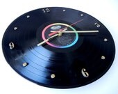 THE BEATLES Vinyl Record Wall Clock (Magical Mystery Tour)