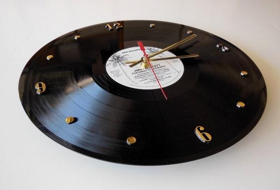 Jimmy Buffett Vinyl Record Wall Clock Coconut By