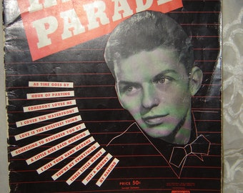 Frank Sinatra's 1943 Hits On Parade Music Book