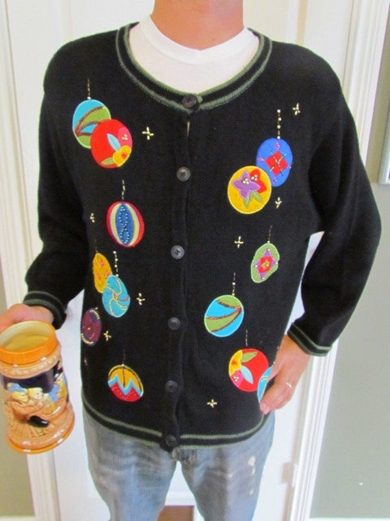 Ugly Christmas Sweater, Size XL
