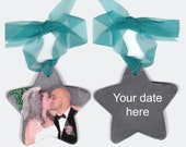 Wedding Christmas Ornament Favor 1st Custom Painting Portrait