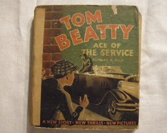 "RARE 1930's ""Tom Beatty Ace of The Service"" Book"