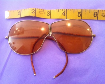 Edwardian circa 1914 folding sunglasses shooting driving glasses gold filled