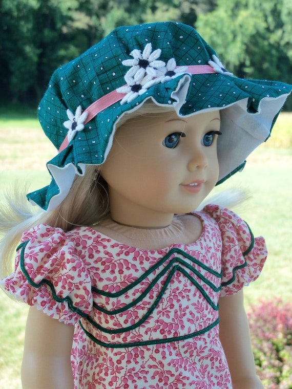 American Girl Caroline 1812 Dress and Cap / Clothes for Marie Grace or Caroline