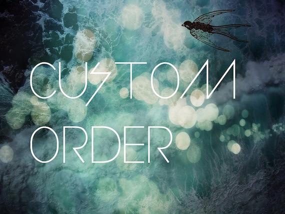 CUSTOM ORDER // For MZLO