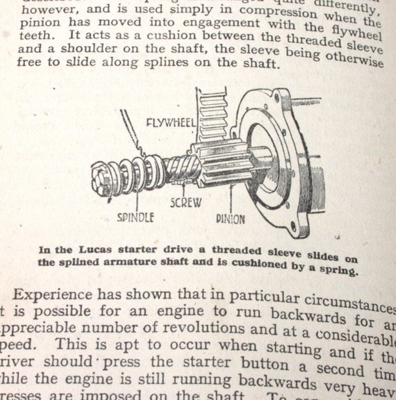 The Motor Electrical Manual- 1940s edition