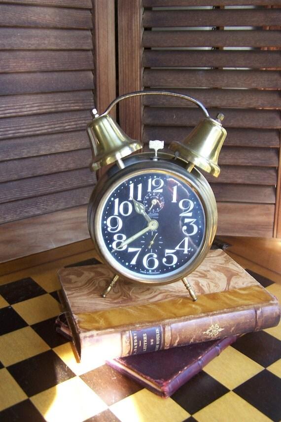 Vintage Linden Alarm Clock / Made in Germany