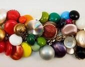 99 Se Luftbalons Repurposed Vintage Jewelry Charm Bracelet one of a kind OOAk