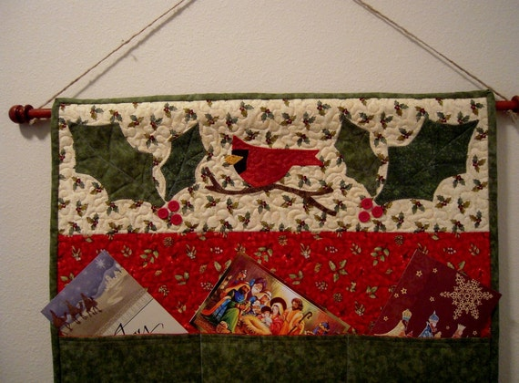 Christmas Card Holder And Dowel Hanger By Sewsouthernquilts