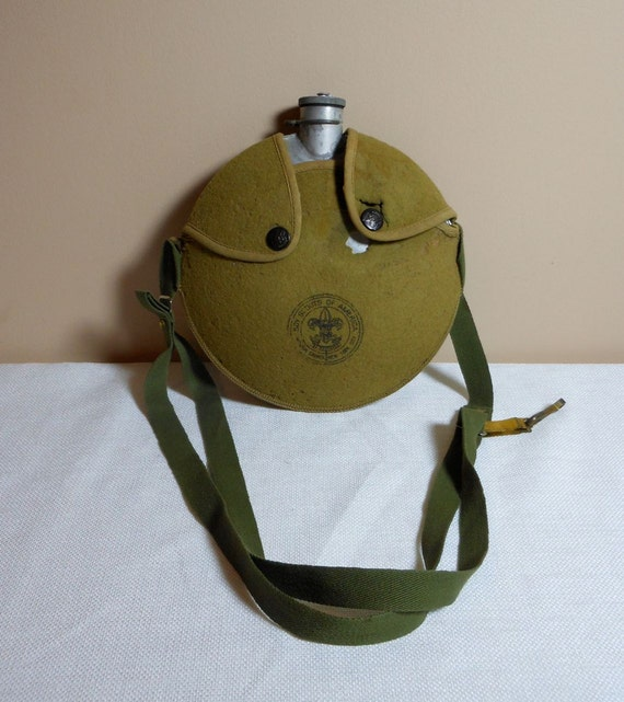 Vintage Official Boy Scout Canteen
