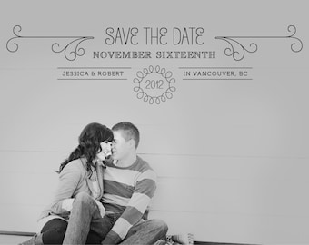 Save The Date Photo Card - Print Yourself