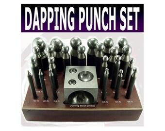 Mazbot 24pc Dapping Punch Set  -  DPS01