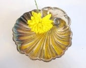 Antique Nautical Shell Dish