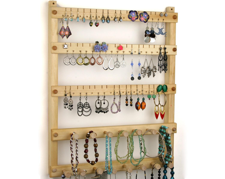 earring holder jewelry organizer hanging by tomsearringholders