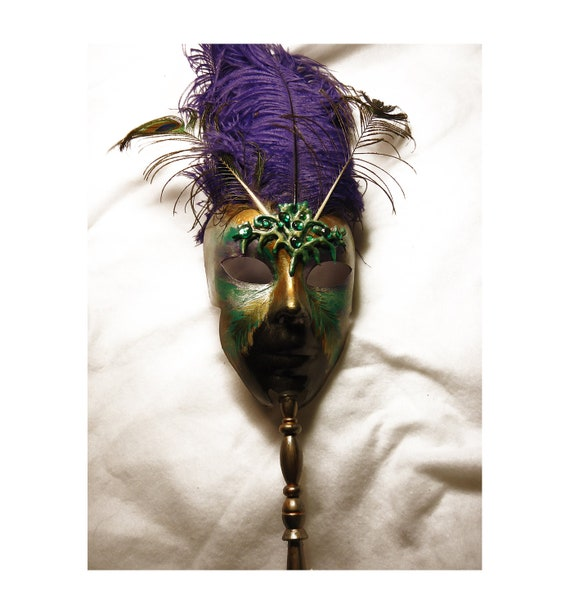Mardi Gras mask, OOAK, Peacock, Masquerade mask, carnival mask, Halloween costume, Halloween mask, ren faire, larp