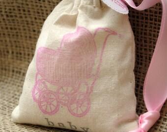 VINTAGE CARRIAGE (PRAM) Sachet Bags / Baby Shower Favors