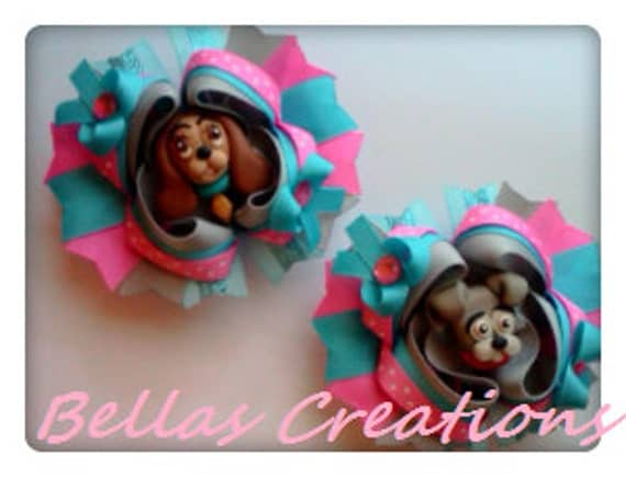 Lady and the Tramp Hairbow set