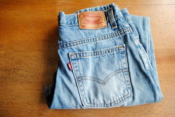 Levi's 510 Jeans, Slim Fit, Size 6