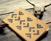 Southwestern Escape Moleskine Notebook Journal Pocket Size Western Rustic Geometric Boho Travel