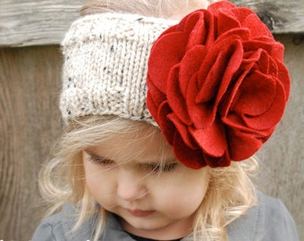 Knitting PATTERN-The Ava Warmer (Toddler, Child, Adult sizes)